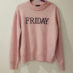 """NWOT Poof """" Friday"""" Sweater"""